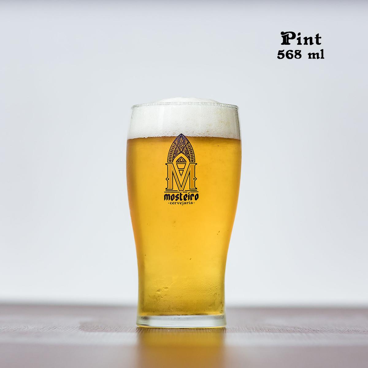 Pint em vidro 568 ml